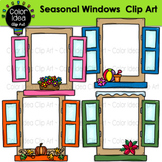 Windows Clip Art (Seasonal and Colored)