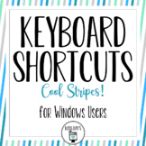 Windows Keyboard Shortcuts - Cool Stripes