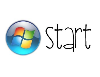 Windows PC Start Menu Icon Poster