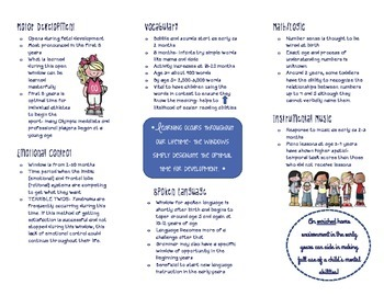 Windows of Opportunity Brochure