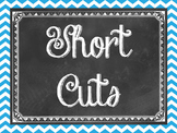 Windows short cuts