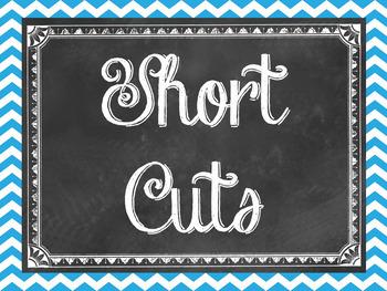 Windows short cuts