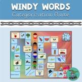 Windy Words: PowerPoint game, speech, categories, categori