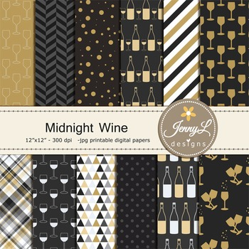 Wine Digital Papers