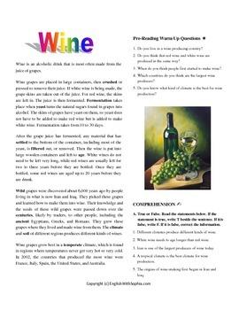Wine- SERIES WONDERFUL DRINKS