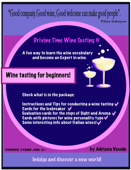 Wine Tasting for beginners!