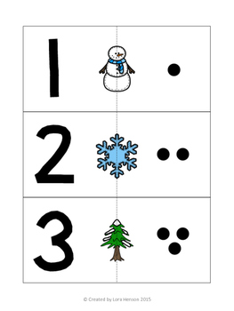 Winter Counting Cards - Set of 10
