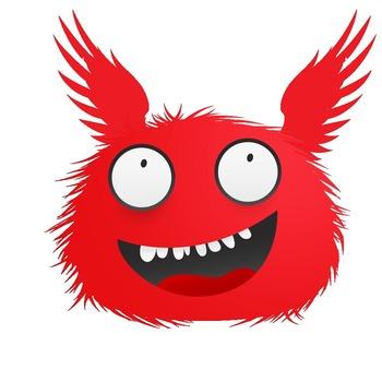 Monster Clip Art (25 Winged Monsters)