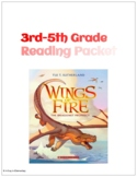 Wings of Fire Reading Packet