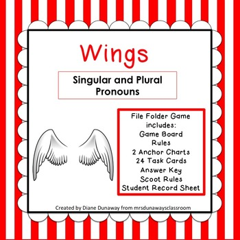 Wings: singular and plural pronouns