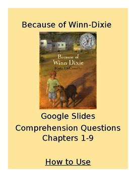 Winn-Dixie Google Slides Ch. 1-9