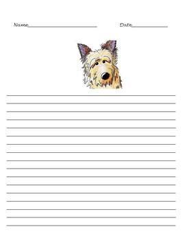 Winn-Dixie Lined Paper