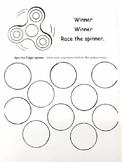 Winner Winner Fidget Spinner-MATH