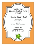 Winners Never Quit (Mia Hamm) Assessment from the Journeys Reading Series