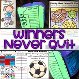 Winners Never Quit Journeys First Grade Activities Unit 6 Lesson 30