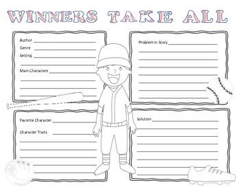 Winners Take All and Baseball Theme Book Reports