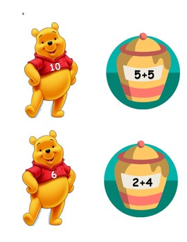Winnie The Pooh Adding and Subtracting Center
