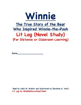 Winnie The True Story of the Bear Who Inspired Winnie-the-Pooh Lit Log