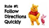 Winnie the Pooh Classroom Rules