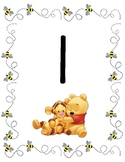 Winnie the Pooh Number Posters 1 - 20
