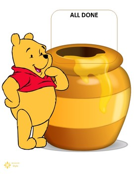Token System - Winnie the Pooh (5 or 10 tokens)