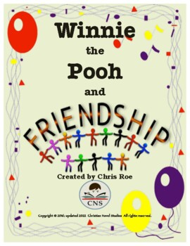 Friendship In The Bible Worksheets & Teaching Resources | TpT