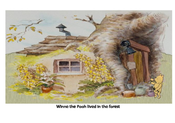 Winnie the Pooh and the bees