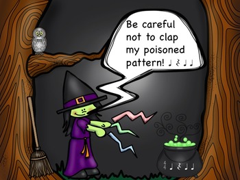 Winny the Witch - A Game to Practice Quarter Rests