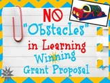 Winning Grant Proposal: Cross-Curricular Obstacle Course worth $2,633!!