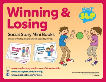 Winning & Losing Games: Social Story Mini Books