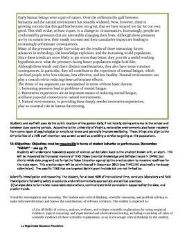 Winning grant application for a school garden