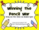 Winning the Pencil War - An Effective Management System