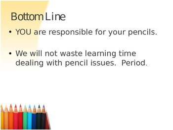 Winning the Pencil War - Presentation