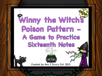 Winny the Witch - A Game to Practice Sixteenth Notes