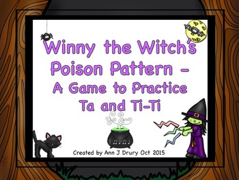 Winny the Witch - A Game to Practice Ta And Ti-Ti