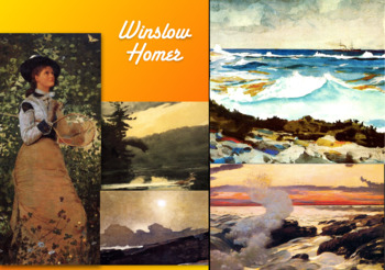 Winslow Homer - American Artist - 19th Century - FREE POSTER