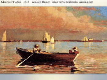 Winslow Homer - American Painter - 19th Century - Oil Watercolor - 187 Slides