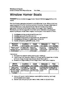 Winslow Homer Boats