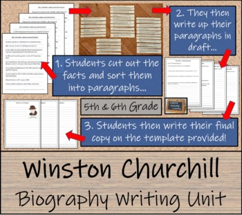 Winston Churchill -  Writing Activity