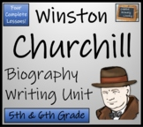 Winston Churchill -  5th Grade & 6th Grade Biography Writing Activity
