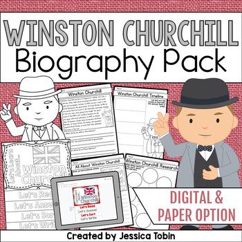 Winston Churchill Biography Pack