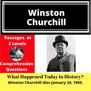 Winston Churchill Differentiated Reading Passage January 24
