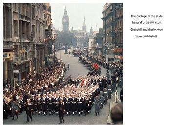 Winston Churchill Funeral 1965