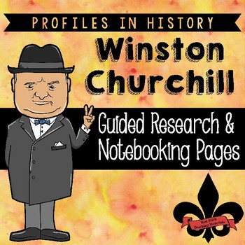 Winston Churchill Guided Research Activity