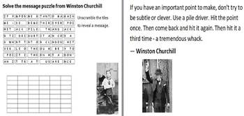 Winston Churchill Puzzle Pack