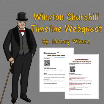 Winston Churchill Timeline Webquest By History Wizard TpT