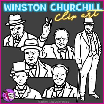 Winston Churchill clip art