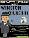 Winston Churchill's Interactive Notebook Pages
