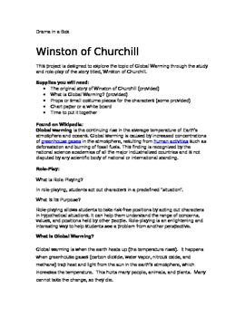Winston of Churchill- Role Play