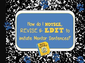 Winston the Book Wolf Interactive Mentor Sentence PowerPoint